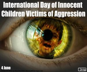 International Day of Innocent Children Victims of Aggression puzzle