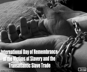 International Day of Remembrance of the Victims of Slavery and the Transatlantic Slave Trade puzzle