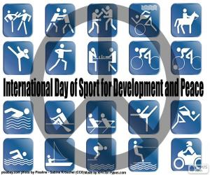 International Day of Sport for Development and Peace puzzle