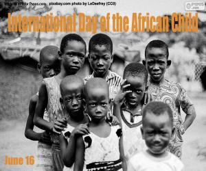 International Day of the African Child puzzle