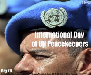 International Day of UN Peacekeepers puzzle