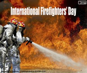 International Firefighters' Day puzzle