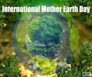 International Mother Earth Day puzzle
