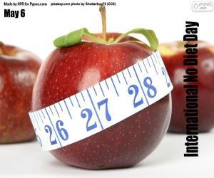 International No Diet Day puzzle