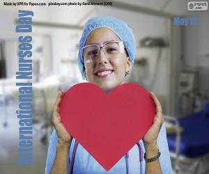 International Nurses Day puzzle