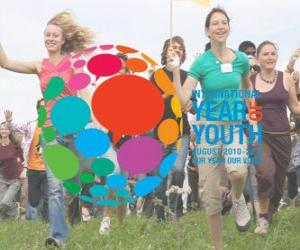 International Year of Youth. August 2010 - 2011. Our year, our voice puzzle