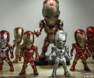 Iron Man figures puzzle