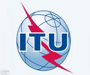 ITU logo, International Telecommunication Union puzzle