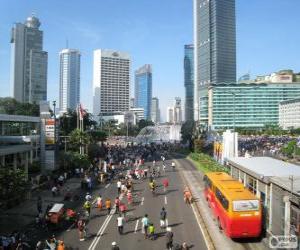 Jakarta, Indonesia puzzle