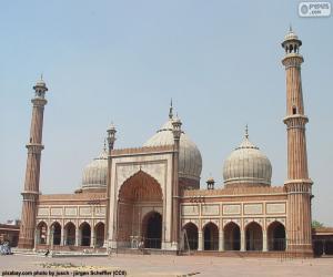 Jama Masjid, India puzzle