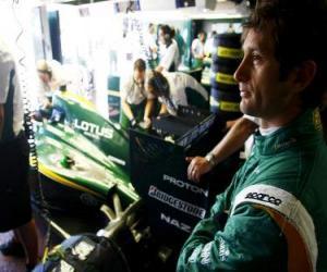 Jarno Trulli - Lotus - Monte-Carlo 2010 puzzle