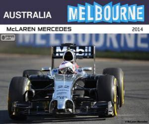Jenson Button - McLaren - 2014 Australian Grand Prix, 3rd classified puzzle
