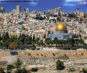 Jerusalem, Israel puzzle