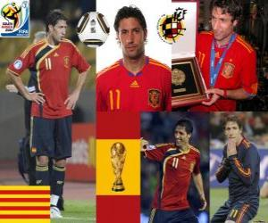 Joan Capdevila (The incombustible) Spanish team defense puzzle