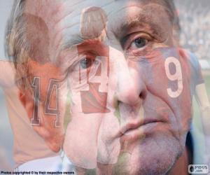 Johan Cruyff (1947-2016) puzzle