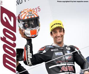 Johann Zarco, Moto2 2015 puzzle