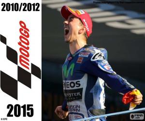 Jorge Lorenzo, MotoGP 2015 puzzle