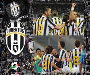 Joventus, Italian Football League champion - Lega Calcio 2011-12 puzzle