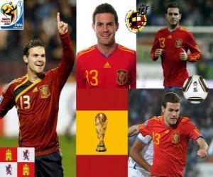 Juan Mata (The Magic ankle) Spanish National Team forward puzzle