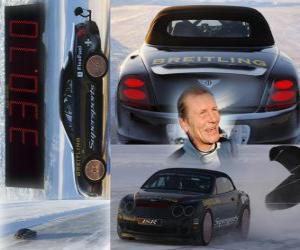 Juha Kankkunen, ice speed record puzzle