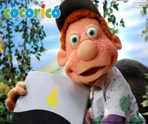 Julio, the boy from the Cocoricó Farm puzzle