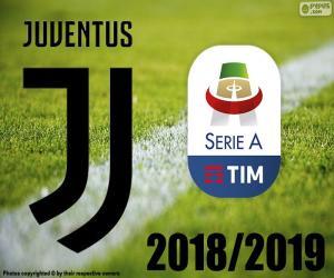 Juve, champion 2018-2019 puzzle