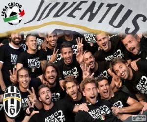 Juventus champion 2013-20014 puzzle