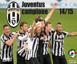 Juventus champion 2014-20015 puzzle