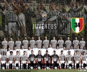 Juventus champion 2015-20016 puzzle