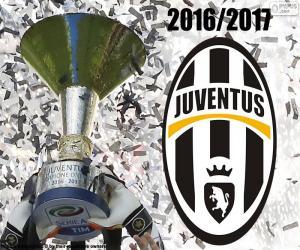 Juventus, champion 2016-2017 puzzle