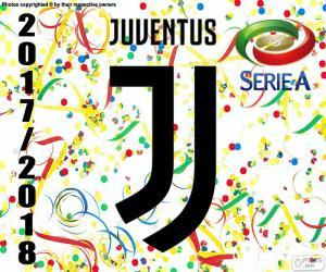 Juventus, champion 2017-2018 puzzle