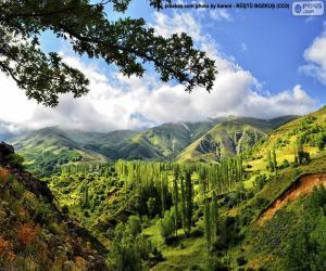 Kaakar Mountains, Turkey puzzle