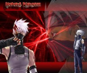 Kakashi Hatake, master of ninjas puzzle