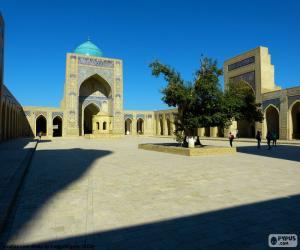 Kalyan mosque, Uzbekistan puzzle