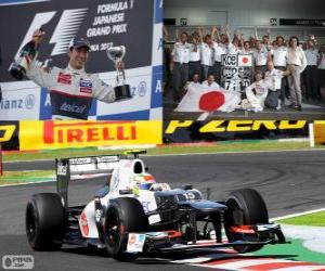 Kamui Kobayashi - Sauber - Grand Prix of Japan 2012, 3rd classified puzzle