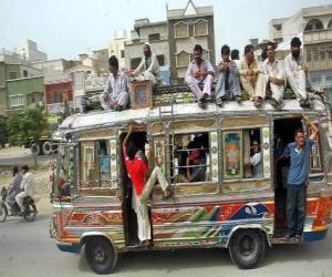 Karachi bus puzzle