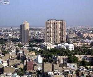 Karachi, Pakistan puzzle