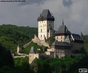 Karlštejn Castle puzzle