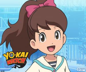 Katie, Yo-Kai Watch puzzle