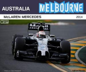 Kevin Magnussen - McLaren - 2014 Australian Grand Prix, 2º classified puzzle