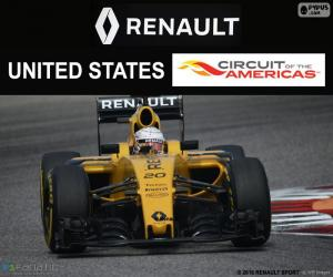 Kevin Magnussen, United States GP 2016 puzzle