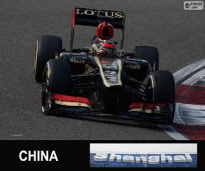 Kimi Räikkönen - Lotus - 2013 Chinese Grand Prix, 2nd classified puzzle