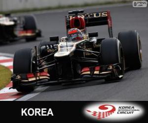 Kimi Räikkönen - Lotus - 2013 Korean Grand Prix, 2º classified puzzle