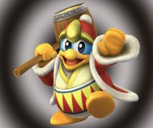 King Dedede, Kirby's great enemy puzzle