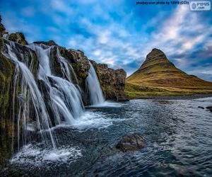 Kirkjufellsfoss, Iceland puzzle
