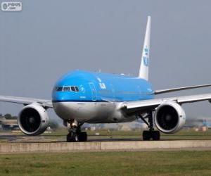 KLM Royal Dutch Airlines, Netherlands puzzle
