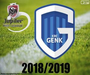 KRC Genk, champion 2018-2019 puzzle