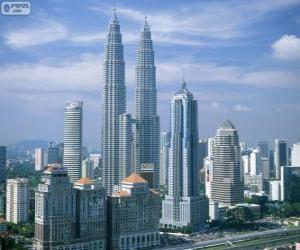 Kuala Lumpur, Malaysia puzzle