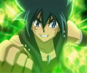 Kyoya Tategami, characters from the Metal saga and the last rival to Gingka puzzle
