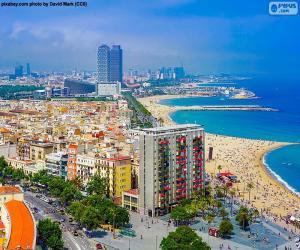 La Barceloneta, Barcelona puzzle